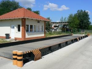 Hídmérleg mérlegházzal - Orosháza
