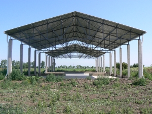 Nyitott trágyatároló - Orosháza